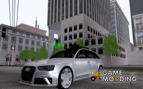 Audi RS4 Avant B8 2013 for GTA San Andreas