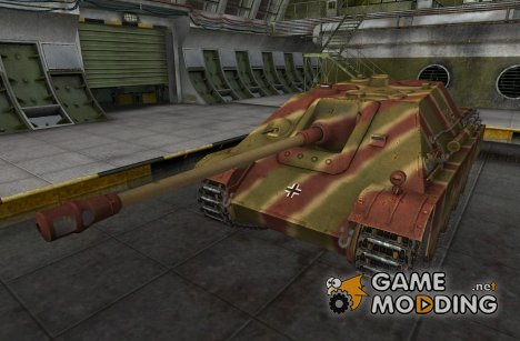 Ремоделинг и шкурка для JagdPanther для World of Tanks