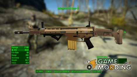 FN SCAR 17s for Fallout 4