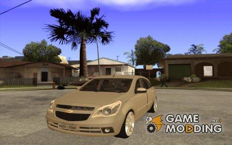 Chevrolet Agile 2012 for GTA San Andreas