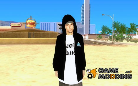 Одежда с Виктором Цоем for GTA San Andreas