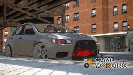 Mitsubishi Lancer Evolution X Stance for GTA 4