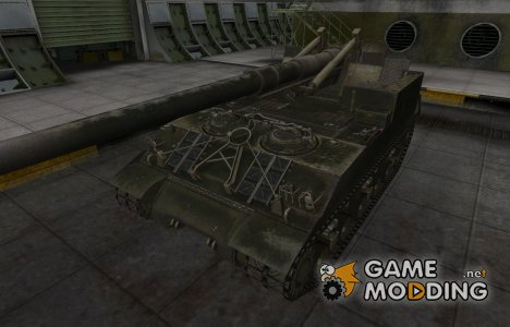 Шкурка для американского танка M40/M43 для World of Tanks