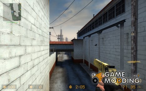 Desert Eagle Tiger для Counter-Strike Source