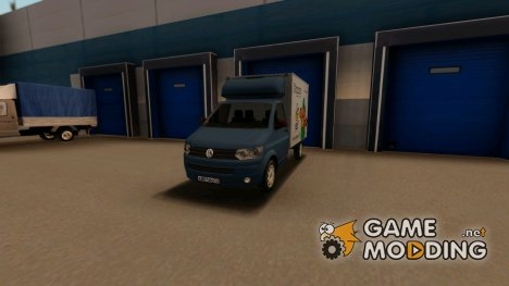 Volkswagen Transporter T5 Box for GTA San Andreas