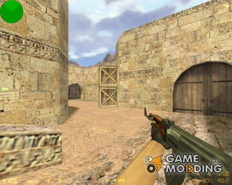 AK 47 Ретекстур для Counter-Strike 1.6