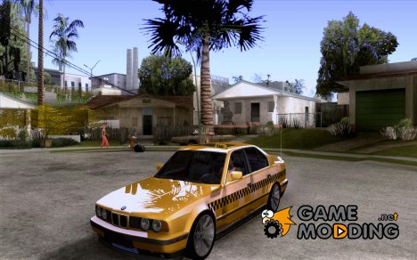 BMW E34 535i Taxi for GTA San Andreas