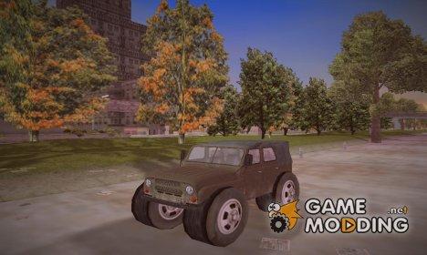 УАЗ 31512 военный для GTA 3