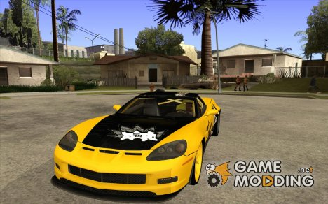 Chevrolet Corvette C6 super promotion для GTA San Andreas
