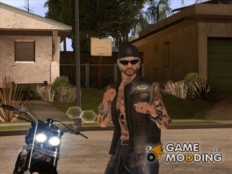 Biker from GTA Online v3 для GTA San Andreas