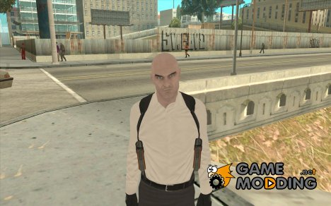 Agent 47 for GTA San Andreas