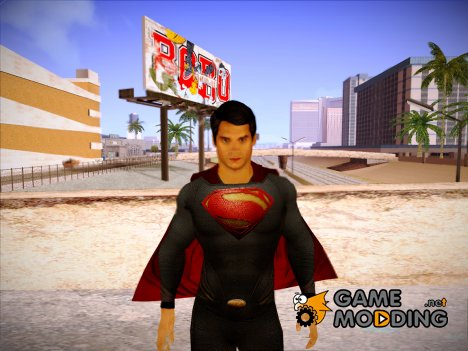 Man of Steel Superman для GTA San Andreas