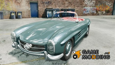 Mercedes-Benz 300 SL Roadster v1.0 for GTA 4