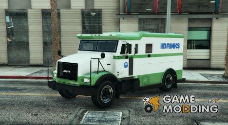 Brink\'s Armored Truck Texture (Camion de la Brink\'s) for GTA 5