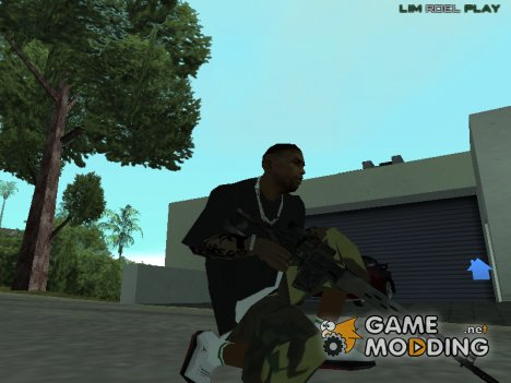 Sniper from FarCry 3 для GTA San Andreas