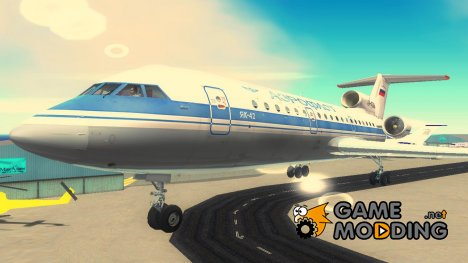 Як-42 Аэрофлот для GTA 3