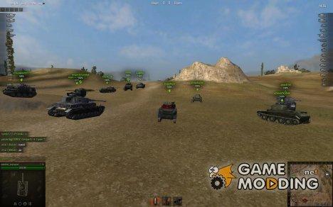 Снайперский, Аркадный и Арт прицелы for World of Tanks