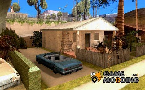 Припаркованый транспорт на Грув Стрит для GTA San Andreas