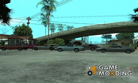 Спаун спортивных автомобилей по клавишам для GTA San Andreas