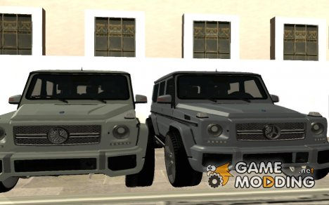 Mersedes Benz G65 for GTA San Andreas