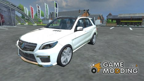 Mercedes-Benz ML63 AMG v 1.1 для Farming Simulator 2013