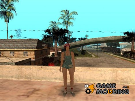 Dead Or Alive 5 Mila Overalls for GTA San Andreas
