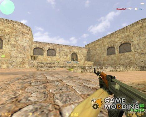 Идеальная стрельба из AK-47 и M4A1 for Counter-Strike 1.6