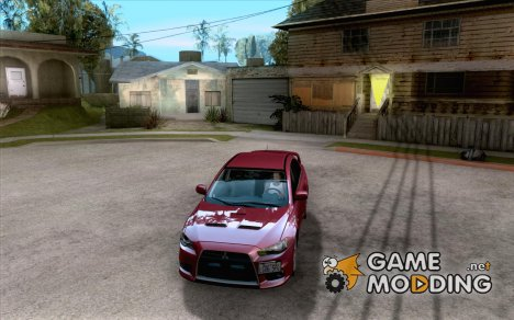Mitsubishi Lancer Evolution X 2008 для GTA San Andreas