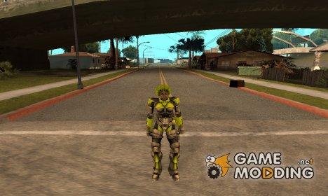 Скин из Алиен сити for GTA San Andreas