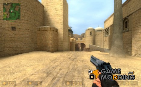 Glossy Diamond of Perals Desert Eagle для Counter-Strike Source