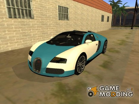 Bugatti Veyron 16.4 for GTA San Andreas