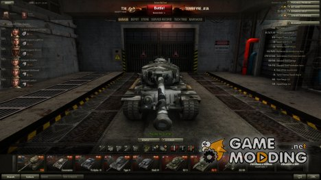 582 Reapers Hangar by TOMBSTONE_A1A(Normal) для World of Tanks
