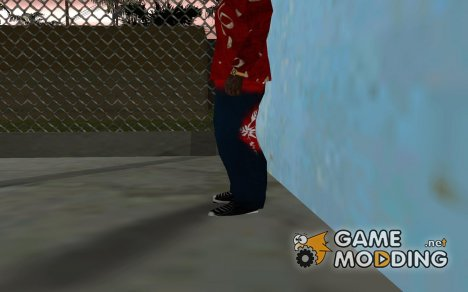 Новогодние штаны для GTA San Andreas