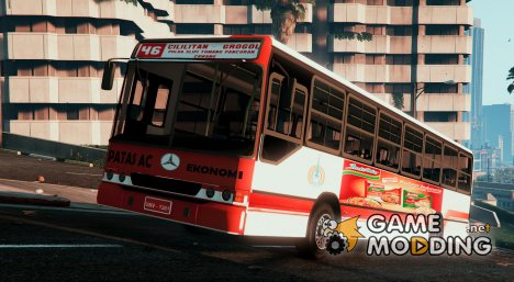 Bus PPD Old Jakarta Transportation for GTA 5