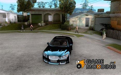 Jaguar XFR 2011 for GTA San Andreas