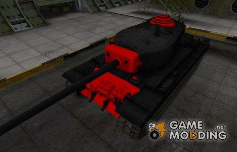 Черно-красные зоны пробития T30 for World of Tanks