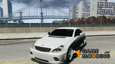 Mercedes Benz CLS Light Tuning v1.0 Beta для GTA 4