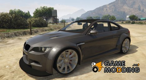 BMW M3 (E92) v1.1 for GTA 5