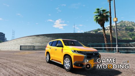 2017 Mitsubishi Pajero Sport for GTA 5