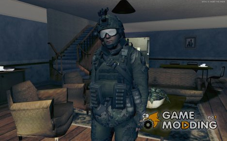 Киношный Спецназ v1 для GTA San Andreas