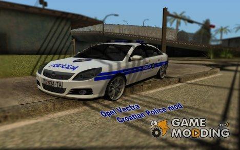 Opel Vectra - Croatian Police для GTA San Andreas