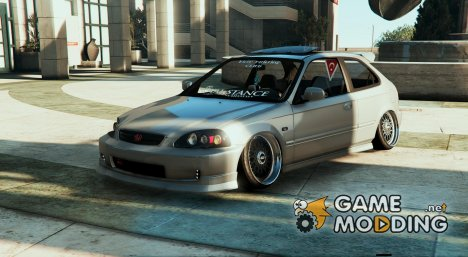 Honda Civic Hatchback 1.1 для GTA 5