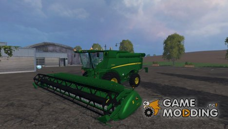John Deere S690i для Farming Simulator 2015