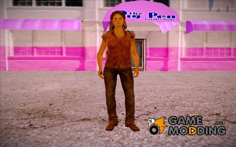 Tess (The Last of Us) для GTA San Andreas