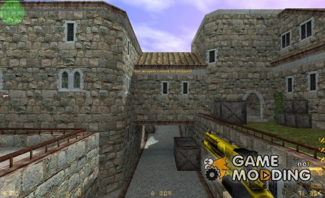 Gold And 'Dark' Deagle для Counter-Strike 1.6