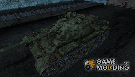 Шкурка для Type 62 для World of Tanks
