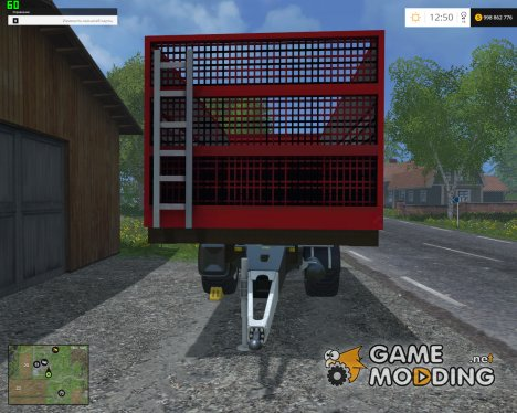 Absetzrahmen Annaburger Mist v1.0 для Farming Simulator 2015
