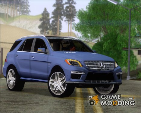 Mercedes-Benz ML 63 AMG 2014 для GTA San Andreas