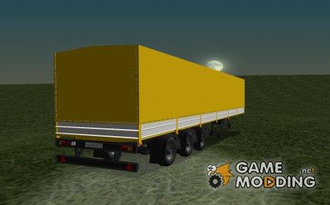Нефаз 93344 из дальнобойщиков 2 для GTA San Andreas