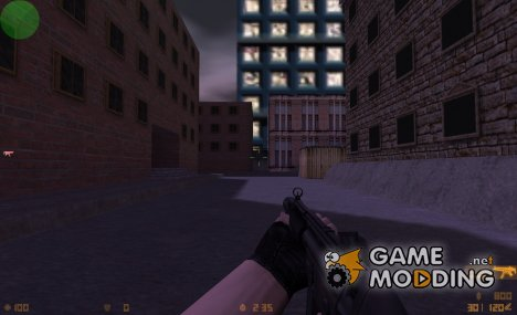 MP5SD on IIopn animations for Counter-Strike 1.6